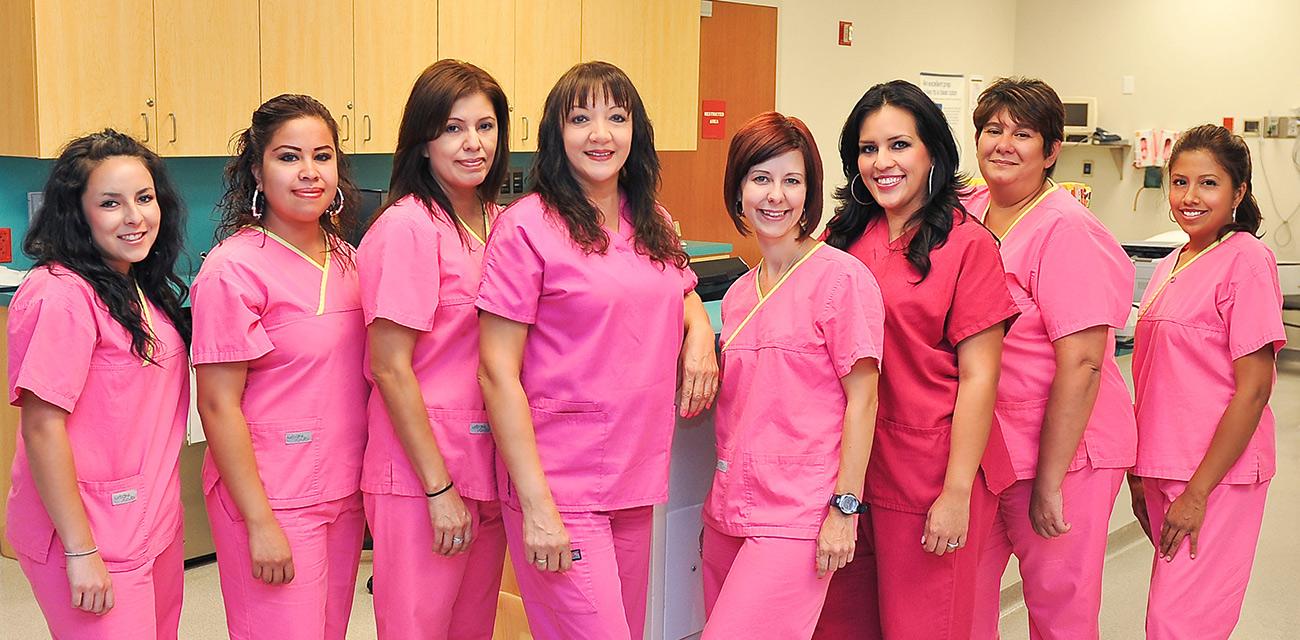 Odessa Endoscopy Staff Picture - Odessa TX